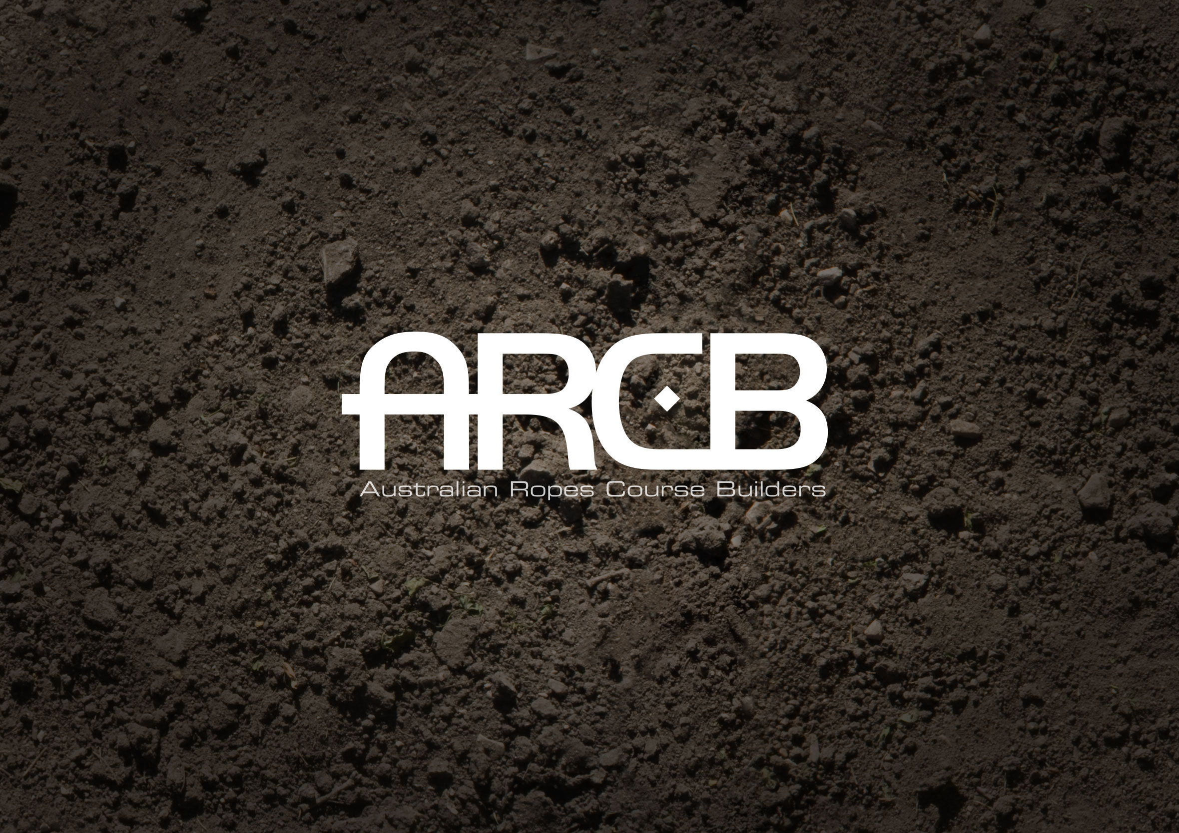 Australian Ropes Course Builders (ARCB) logo - dark version