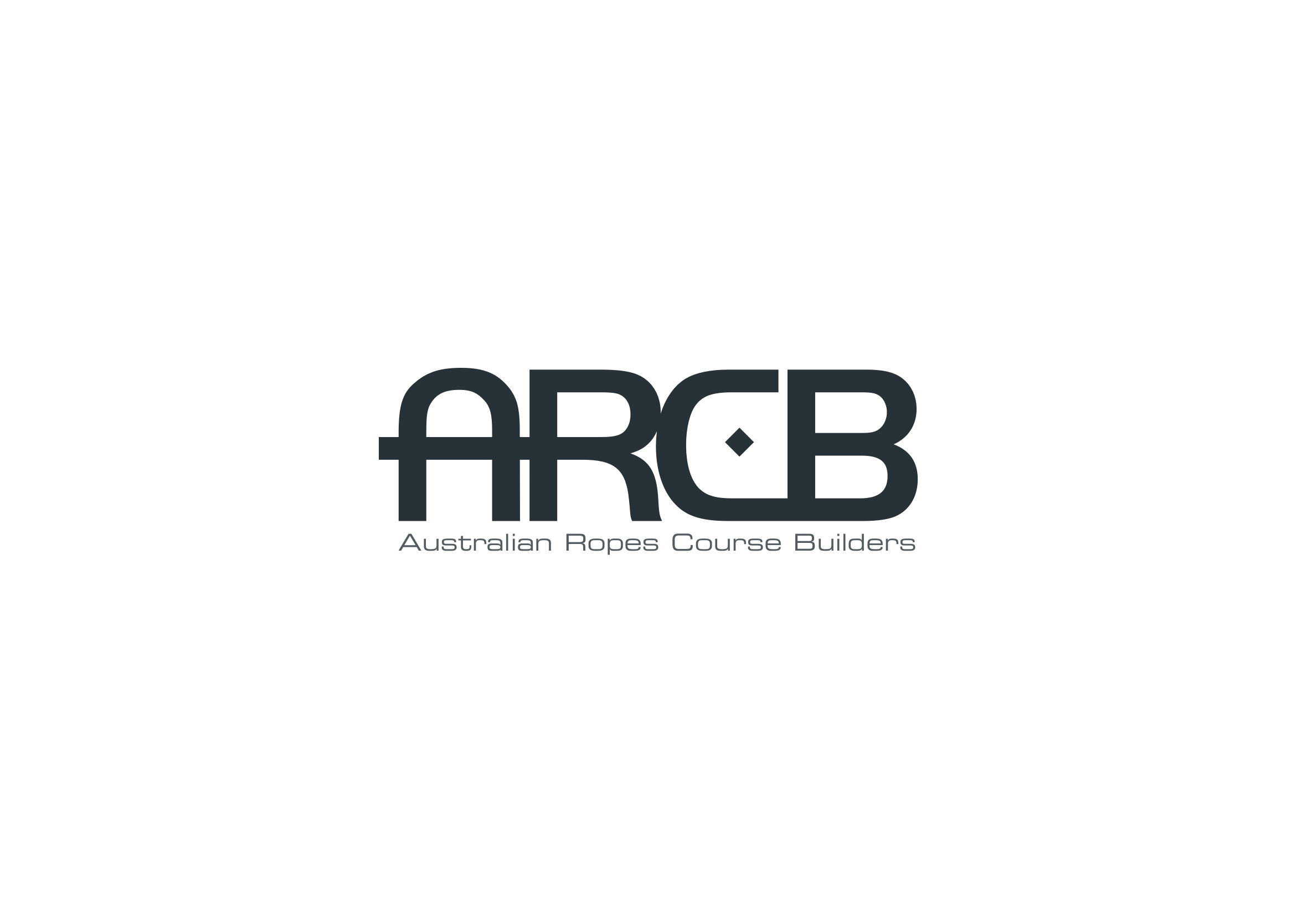 Australian Ropes Course Builders (ARCB) logo - light version