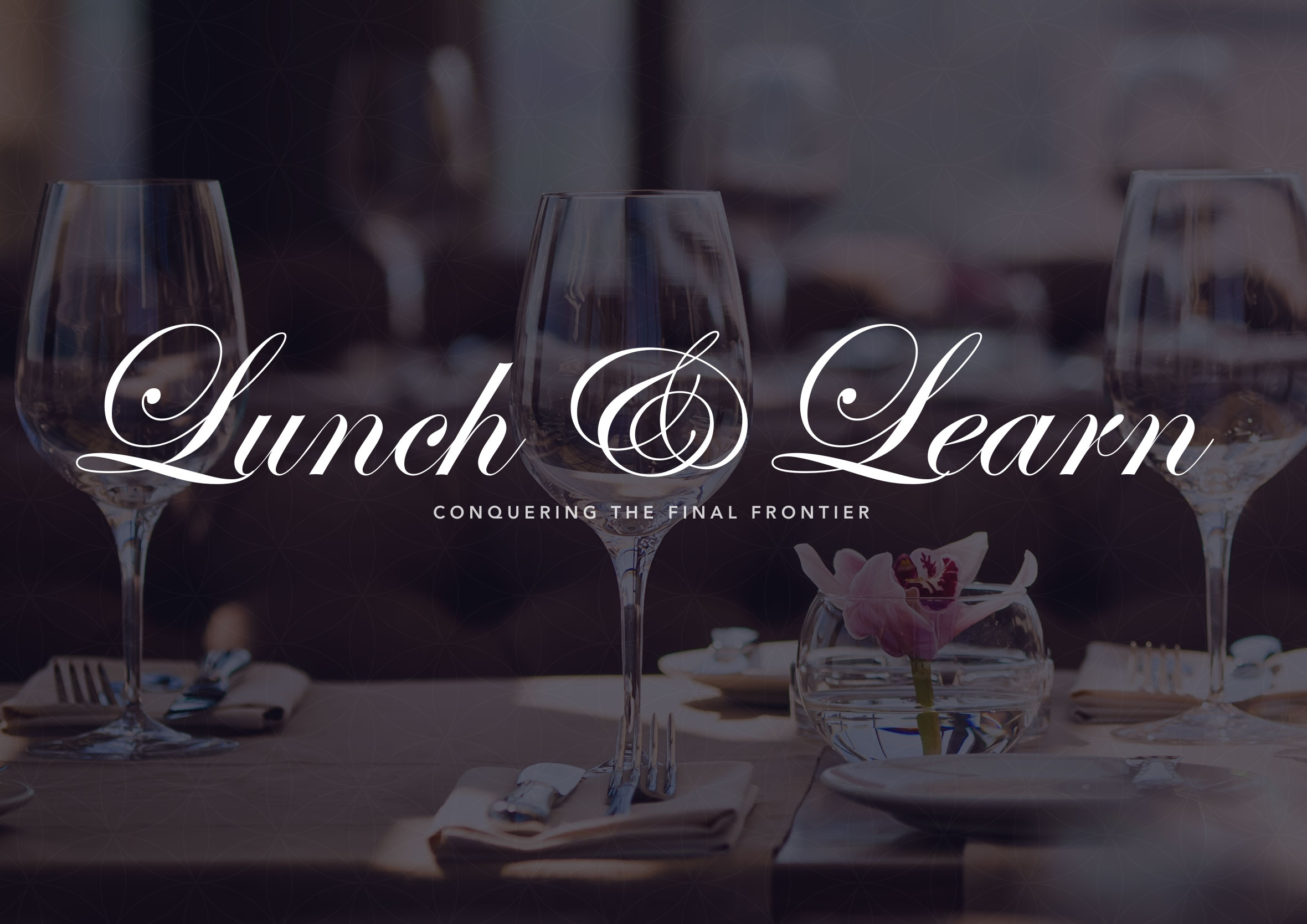 CDP executive lunch invitation lunch and learn