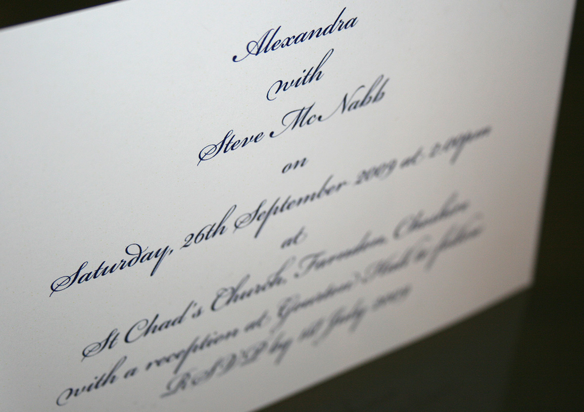Steve and Alex\'s wedding invitation — User Experience Product ...