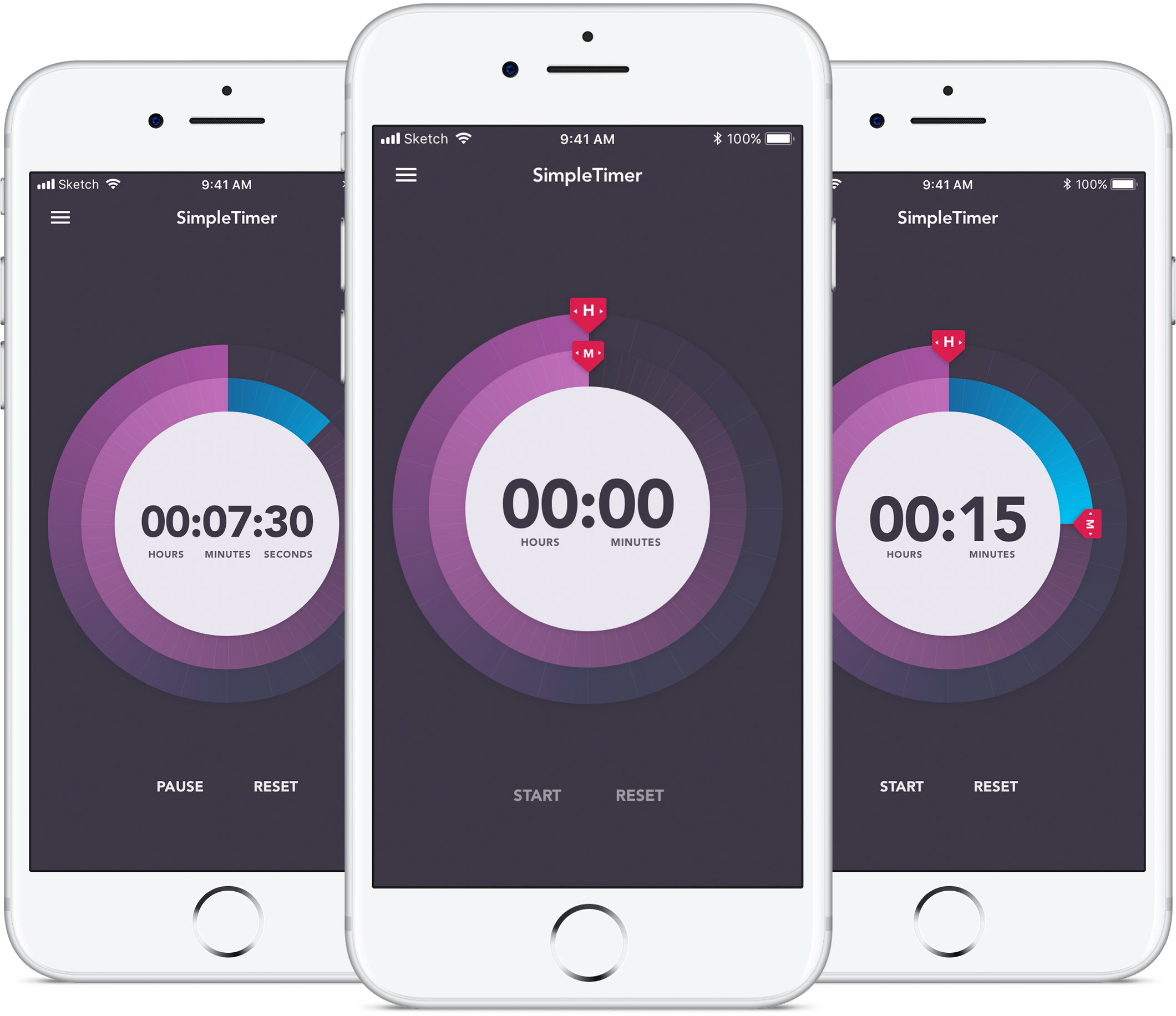 SimpleTimer iphone app featured