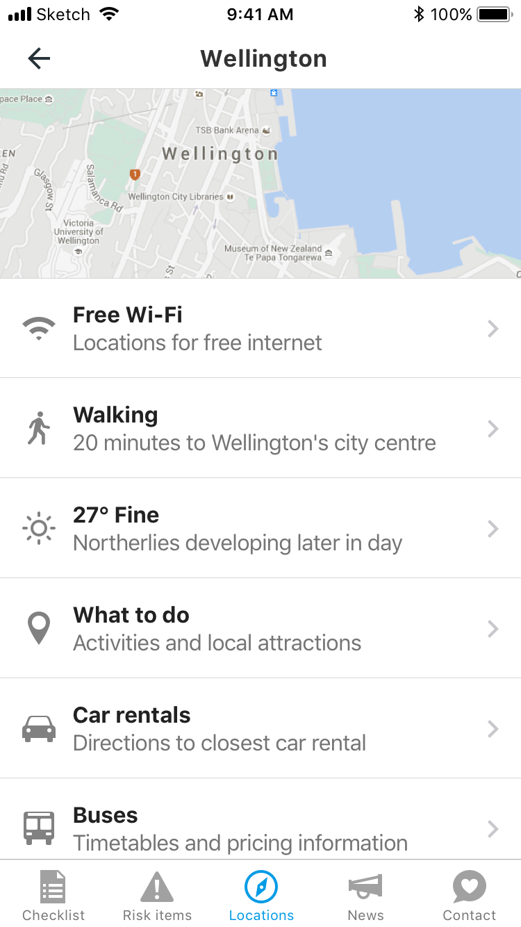 Coming to New Zealand locations most popular ports Wellington scrolled down