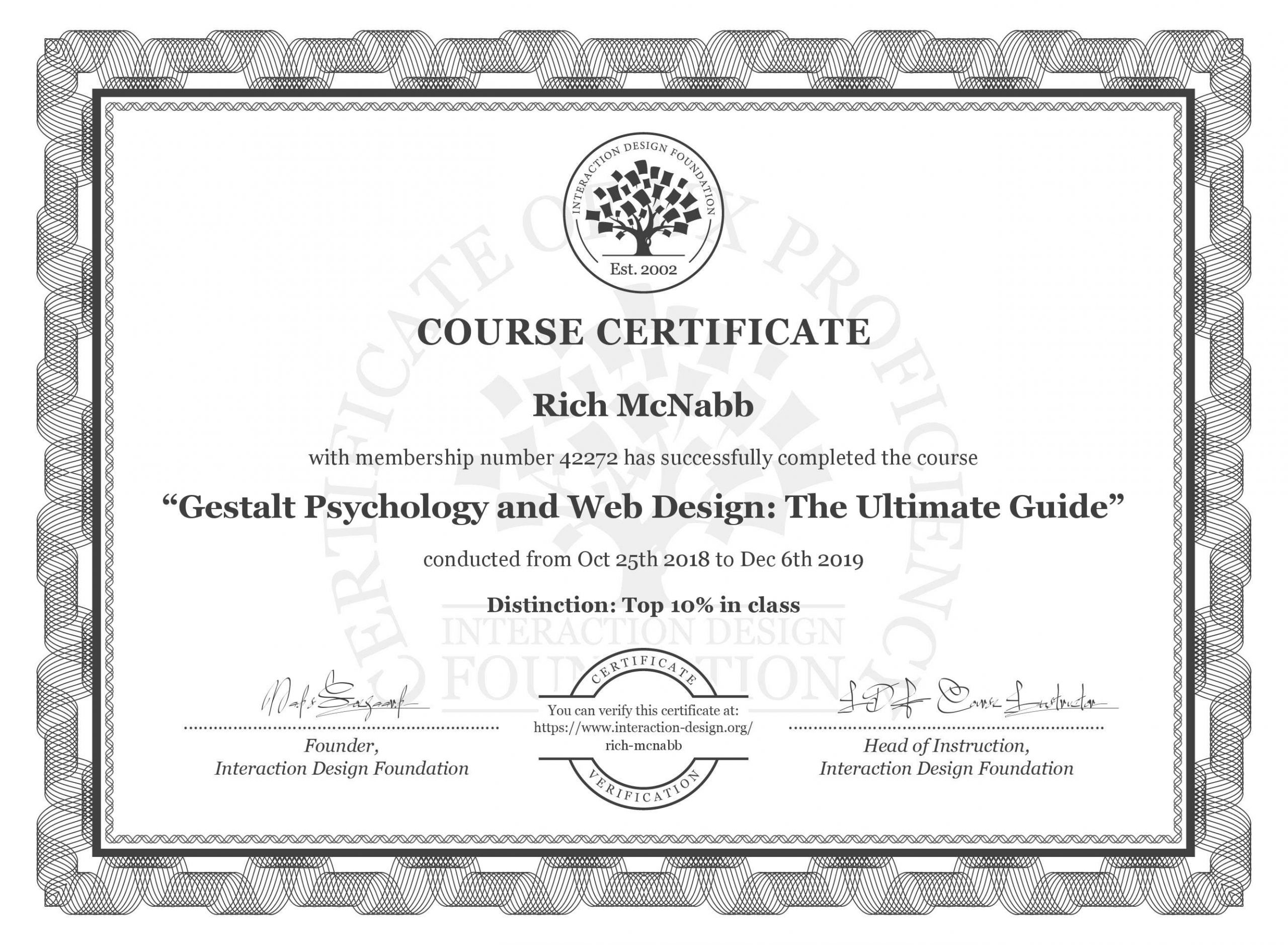 Rich McNabb - Gestalt Psychology and Web Design - The Ultimate Guide