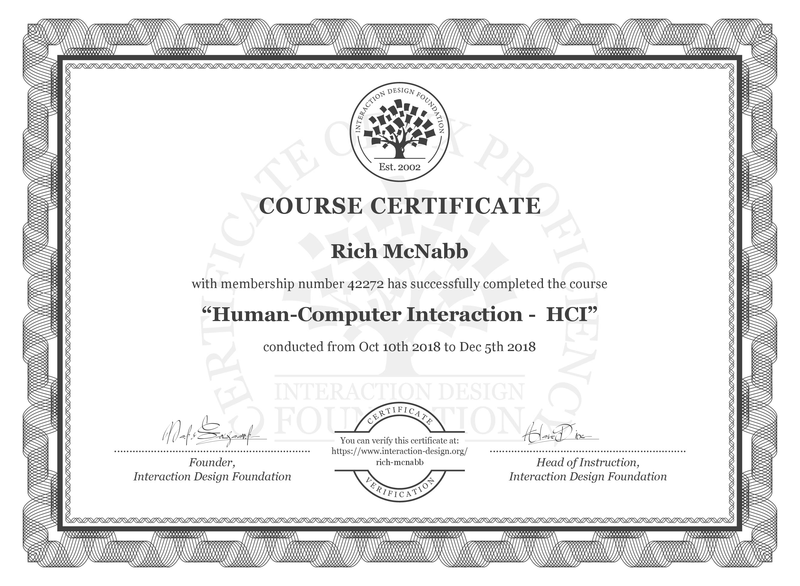 Human-Computer Interaction - HCI