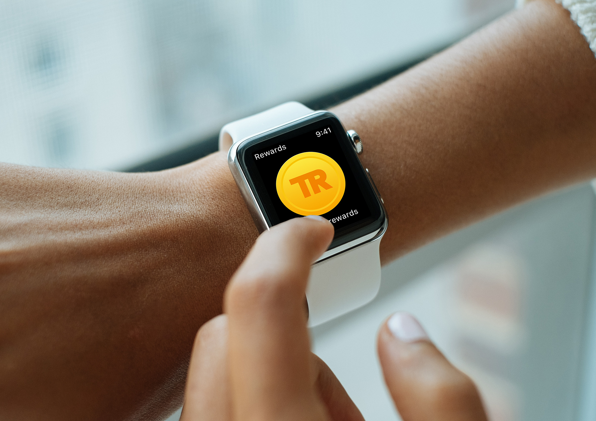 smartwatch wearable travel rewards