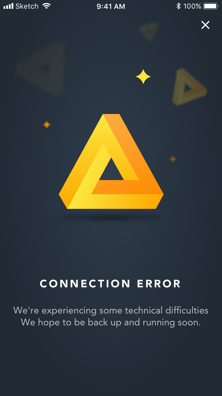 travel rewards connection error