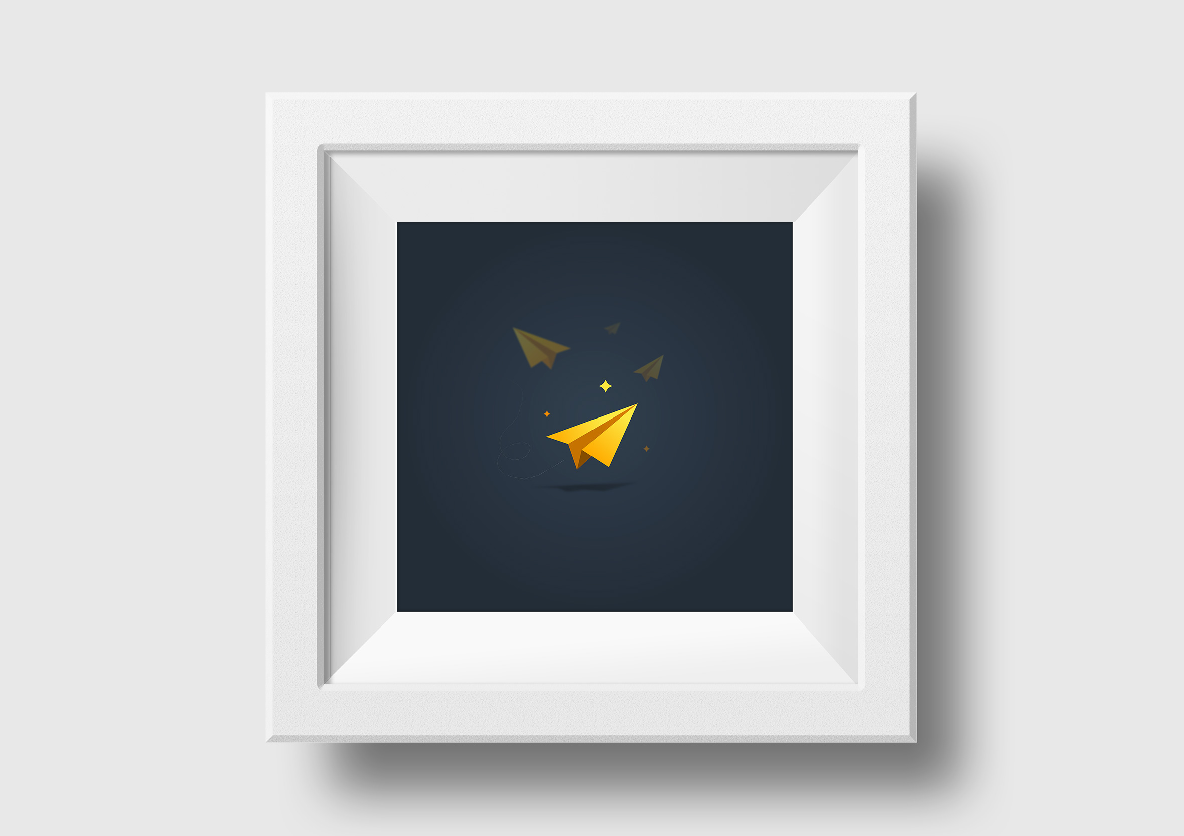 travel rewards square framed print plane