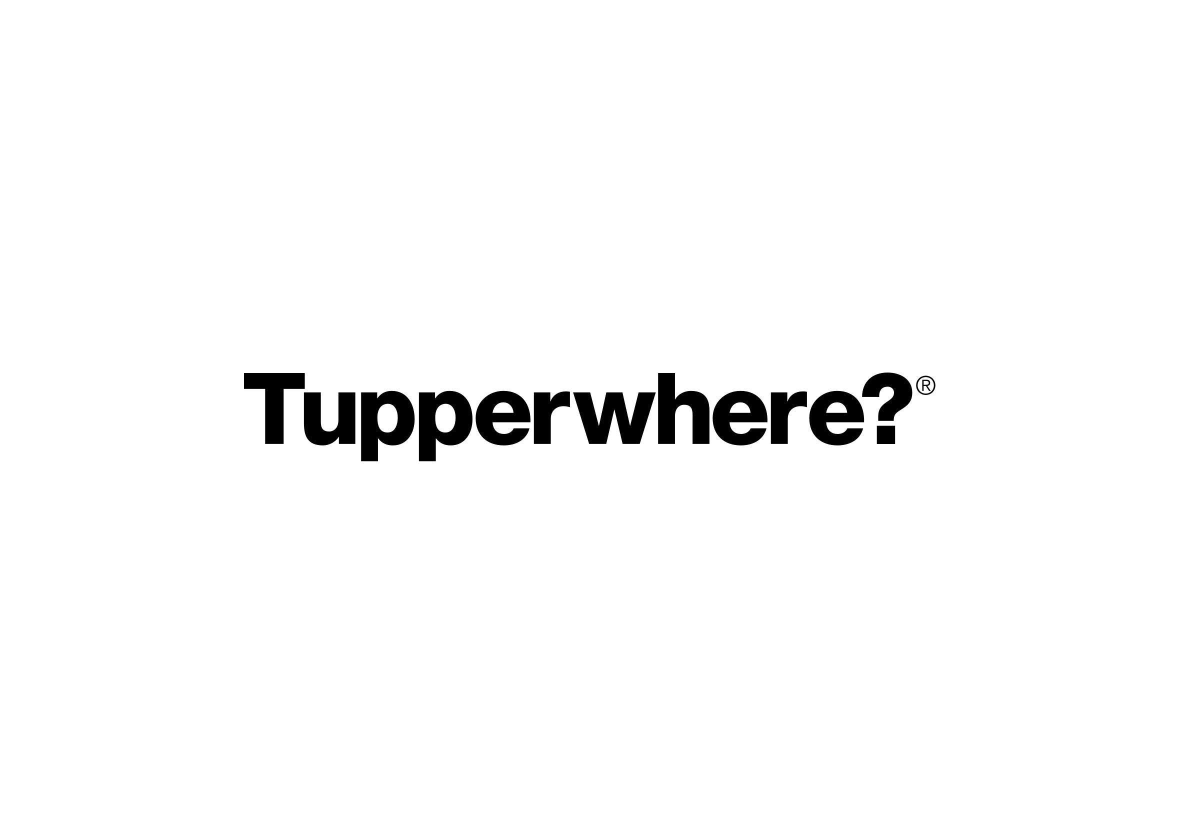 Tupperwhere?